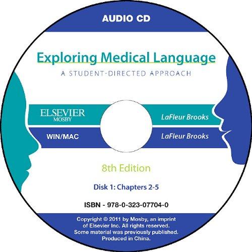 Audio CDs for Exploring Medical Language
