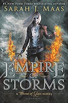 Empire of Storms (Throne of Glass) Hardcover – September 6, 2016 by Sarah J. Maas (Author)