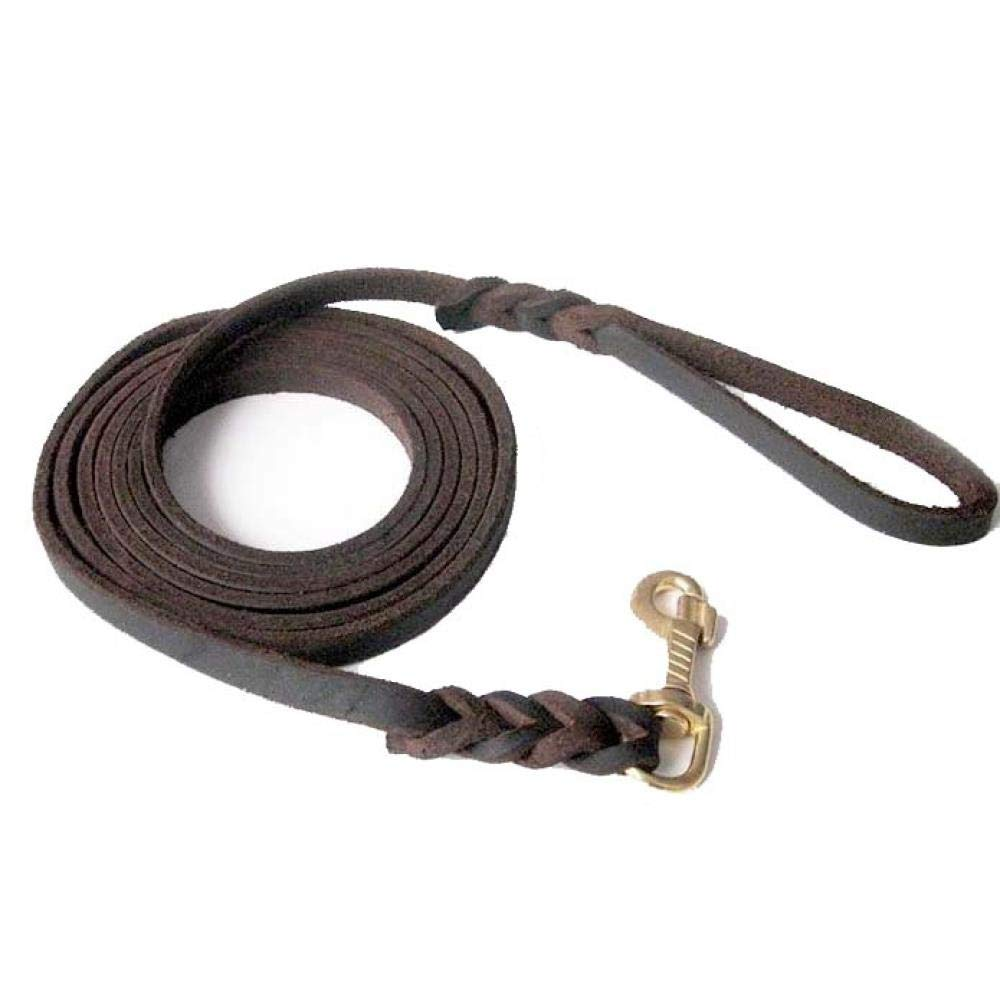 Medium and Large Traction Rope, Coffee, 3 m (Actual Length 2 m 6)
