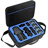 DACCKIT Travel Carrying Case Compatible with DJI Mavic Pro / Mavic Pro Platinum Fly More Combo - Fit Quadcopter Drone, 5x Batteries, Remote Controller, Charging Hub, Propellers and Other Accessories