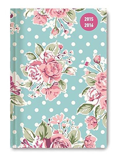 Collegetimer Pocket Roses 2015/2016 - Schülerkalender A6 - Weekly - 224 Seiten