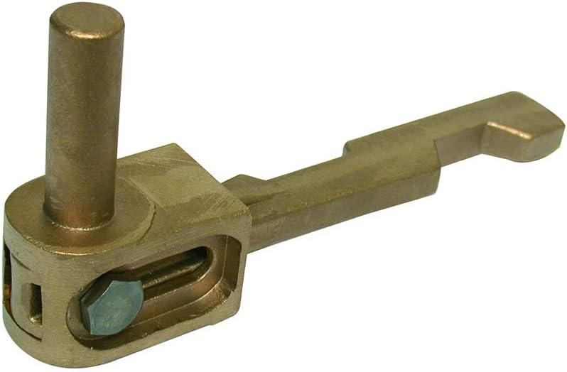 Brut Cache-gond en aluminium pour gond /à sceller
