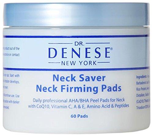 Dr. Denese Neck Saver Firming Pads 60 Count (SKU-149) - Dr Denese Firming Facial Pads