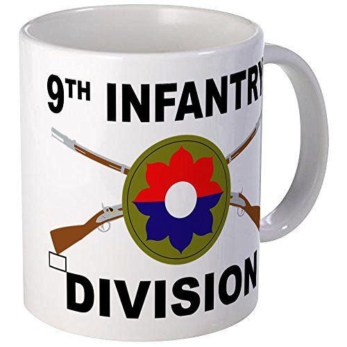 Infantry Division Coffee Mug (CafePress - 9Th Infantry Division - Crossed Rifles Mugs - Unique Coffee Mug, Coffee Cup)