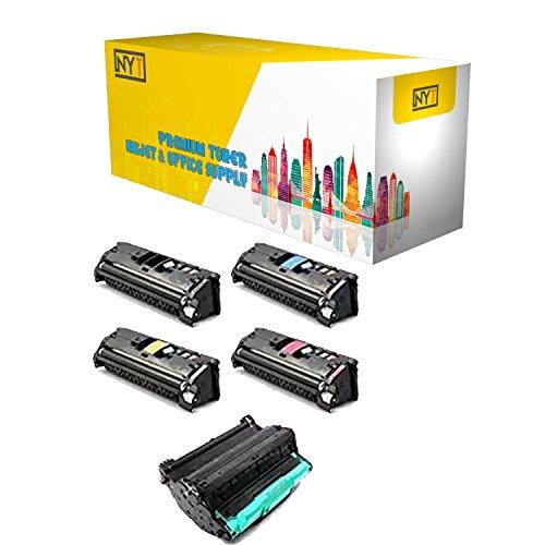 New York Toner New Compatible High Yield for Canon 1 set +Drum EP-87 - ImageClass 8180c | ImageClass MF8170c | ImageClass MF8180c . --Black,Cyan,Magenta,Yellow + (Mf8180c Drum)