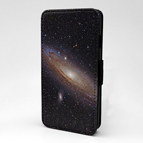 STERN WELTRAUM GALAXY bedruckt Telefon Flip Case Hülle für Apple iPhone 7 & 7S - Andromeda Galaxy - s-a1238
