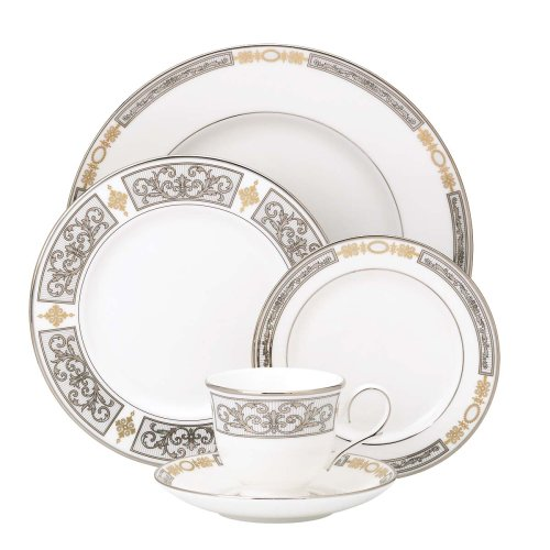 ece Bone China Place Setting, Service for 1 (Lenox Antiquity Accent)