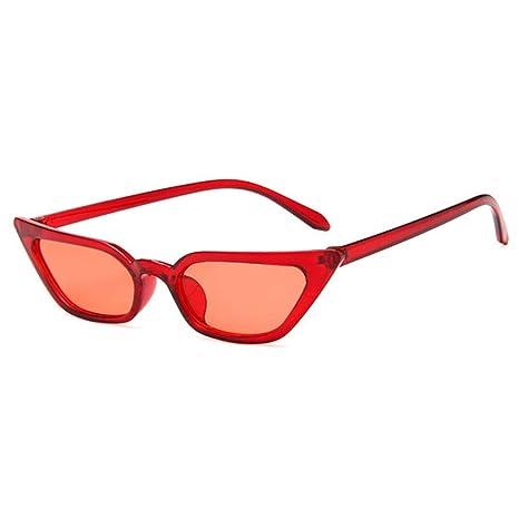 Yangjing-hl Gafas de Sol para Mujer Gafas de Sol con Lentes ...
