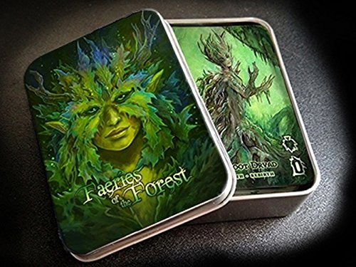 Faeries of the Forest Playing Cards & Oracle Deck Poker Size MPC Custom Limited by Jessica Feinberg