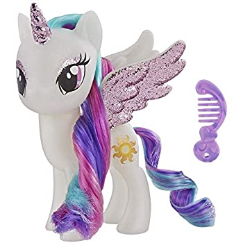 a2c442d8ea42b My Little Pony Toy Princess Celestia – Sparkling 6-inch Figure for Kids  Ages 3 Years Old and Up