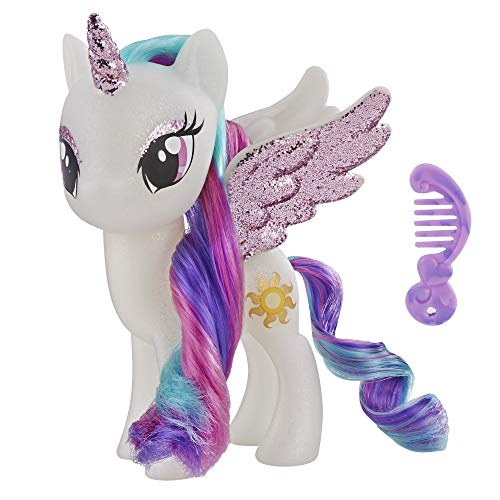 My Little Pony Toy Princess Celestia - Sparkling 6-inch Figure for Kids Ages 3 Years Old and Up (Pony My Little Toys)
