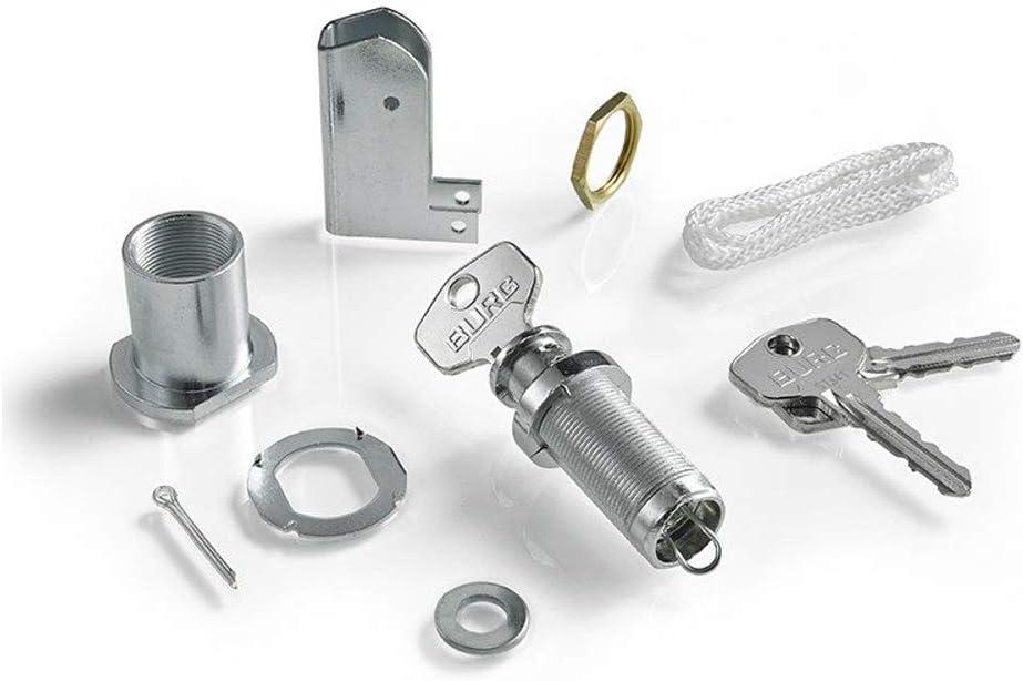 Somfy 2400658, Kit para apertura manual, cerradura puerta de garaje, Para aperturas de emergencia, Compatible con motores de garaje GDK de Somfy