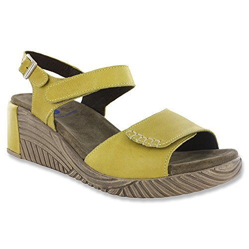 Stroll lacets Comfort Brushed Canary Wolky Yellow Leather Chaussures Seamy à wtXUSUx4qp