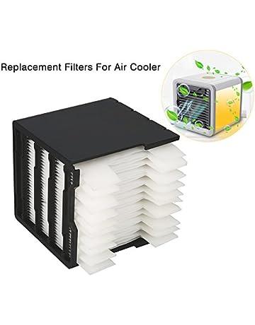 Suzada Filtro de repuesto para refrigerador de aire espacial personal, 11,5 x 11