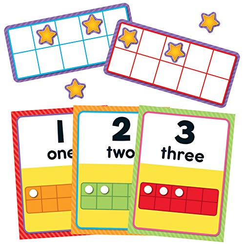 Carson Dellosa Numbers 0-20 Bulletin Board Set - Board Numbers Bulletin
