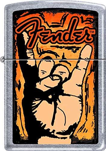 Fender Guitar Zippo Lighter - Rock Hand ()