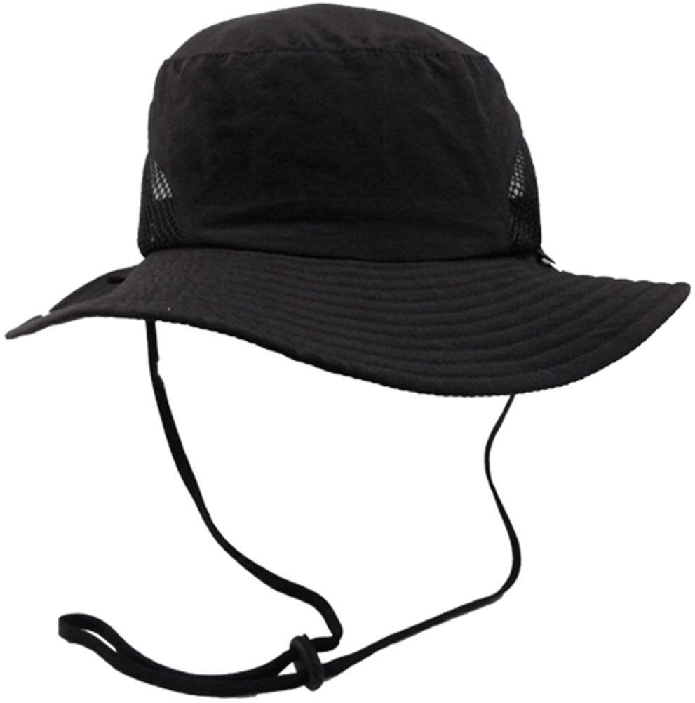 Simplicity Unisex Safari Outback SPF 50 UV Protection Foldable Sun Hat,Black by Simplicity