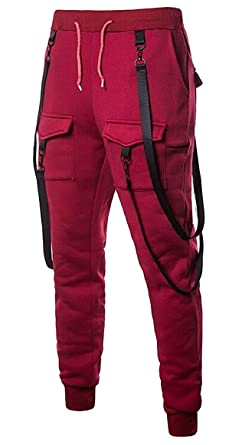 dahuo - Pantalones de chándal para Hombre (elásticos, Talla ...