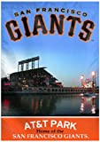 MLB San Francisco Giants Two Sided Stadium View Vertical Banner, 28 x 40-Inch