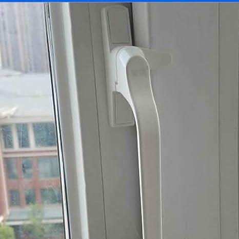 Bloqueo para Ventanas Empuje engrosado plástico de acero de la puerta abierta y la ventana de la ventana de la manija de la manija vieja hebilla de la cerradura de puerta y