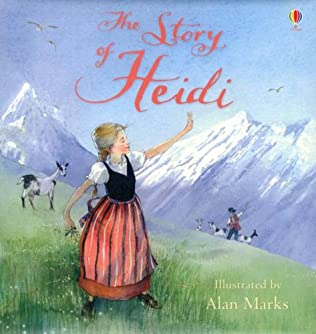 book cover of The Story of Heidi
