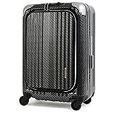 Enkloze X1 Carbon Black Carry-On 21' Spinner 100% Poly TSA Approved Zipperless