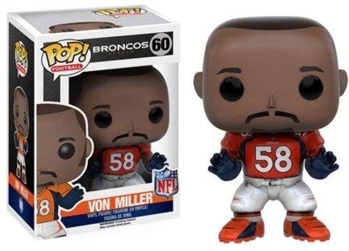 Funko POP NFL: Wave 3 - Von Miller Action Figure Denver Broncos Nfl Tackle
