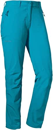 Schöffel Pantalones de senderismo para mujer Engadin1, resistentes, para mujer