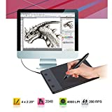 "HUION H420 4 x 2.23"" USB Art Design Graphics"