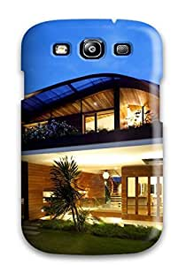 New Cute Funny Modern Houses Case Cover/ Galaxy S3 Case Cover