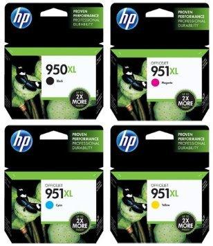Genuine HP 950 X l-951 X L Negro y Color Cartuchos de Tinta Combo ...