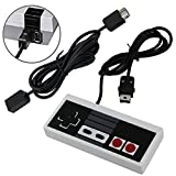 NES Classic Mini Edition Controller with 6 FT Extra Long Extension Controller Gamepad by Generic