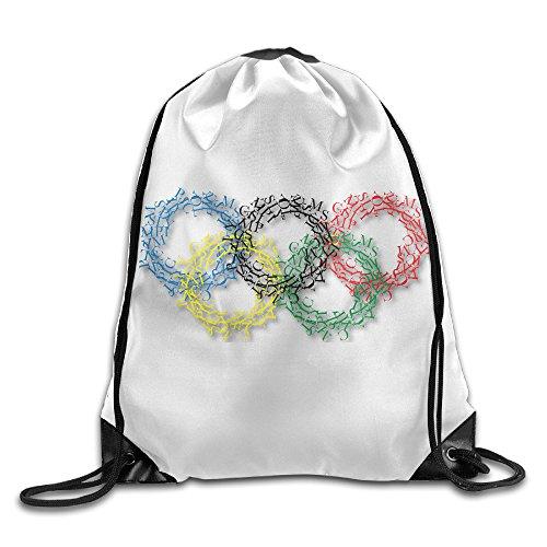 (Babycu Olympic Rings Unisex Drawstring Backpacks/Bags )