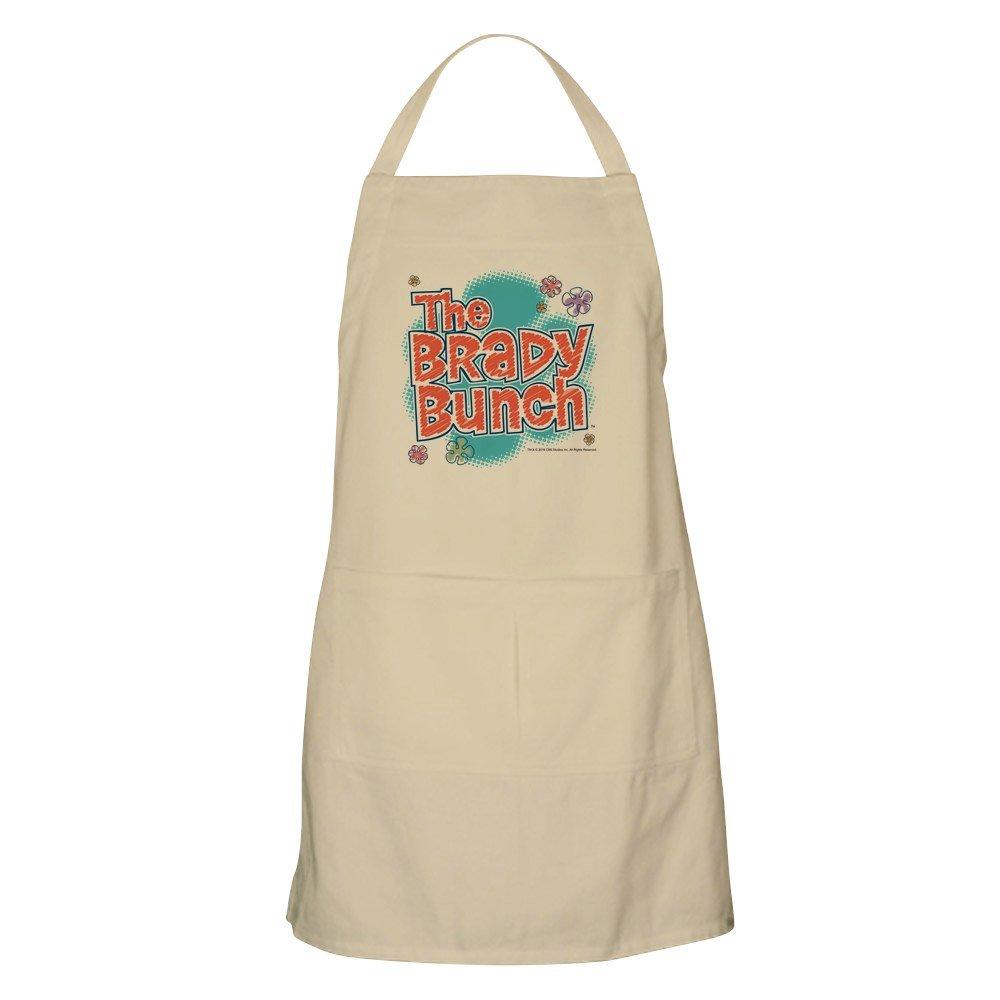 CafePress The Brady Bunch ロゴ エプロン グリルエプロン ベージュ 170696970140D7A  カーキ B0784B1TVN