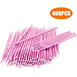 400 PCS Disposable Micro Applicators Brush for Makeup and Personal Care (Head Diameter: 2.0mm)
