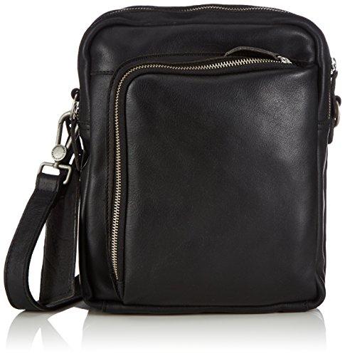 Cowboysbag Bag Alva - Bolso de hombro de cuero Unisex adulto negro - Schwarz (Black 100)