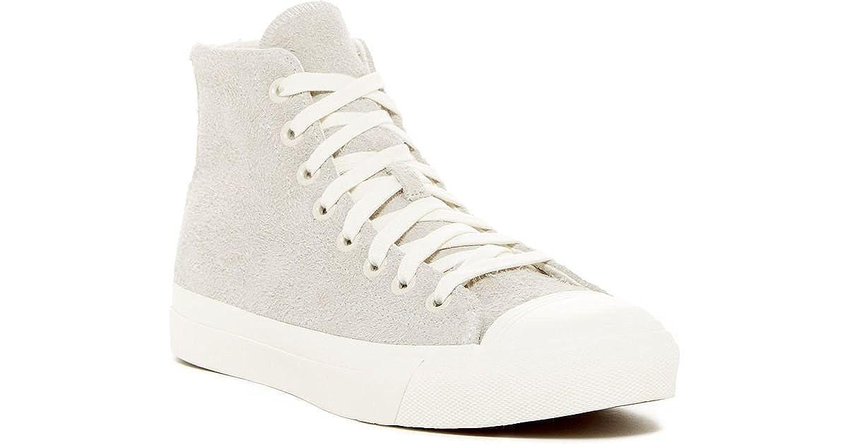a19c8e0059e1f Amazon.com | PRO-Keds Mens Royal Hi Top Suede Sneaker Birch (Off ...