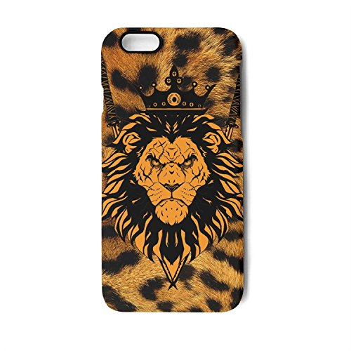 Case for Apple iphone6 plus and iphone6s plus the king lion with knifes.PNG Shock-Absorption Bumper Cover Anti-Scratch Clear