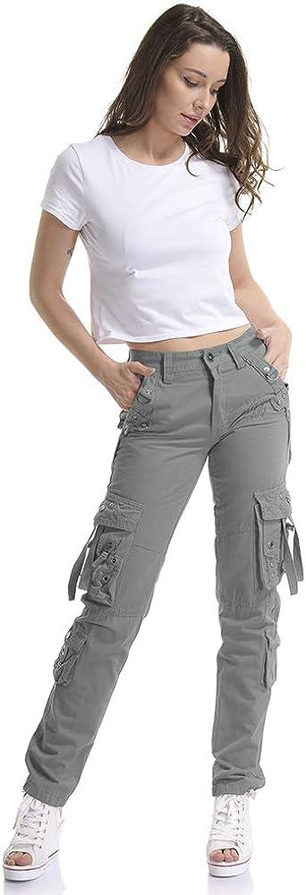 Cargo Basic OCHENTA Pantaloni Donna