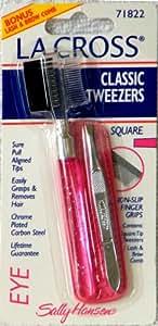 LA CROSS Square Tip Classic Tweezers