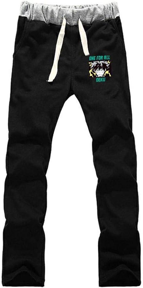 wywyet My Hero Academia Pantalones de Chándal para Hombre Pantalón ...