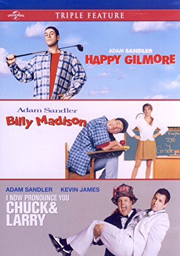 Adam Sandler Triple Feature (Happy Gilmore / Billy Madison / I Now Pronounce You Chuck and Larry)