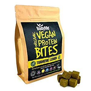 BodyMe Organic Vegan Protein Snacks Bites | Raw Tu...