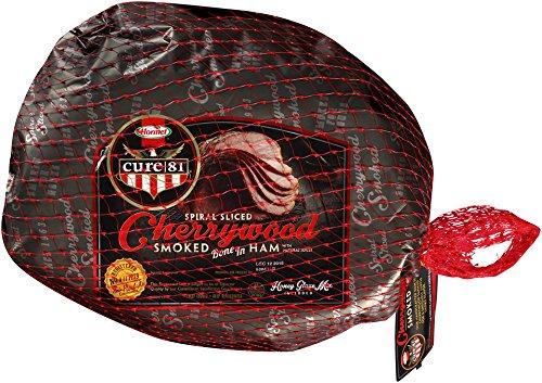 Cure 81 Bone In Spiral Half Ham, Cherrywood Smoked, 8 Pound