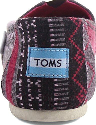 Fuchsia Tribal Jersey Toms Hombre Classics 1001A07 Alpargatas qxCInwT7Z