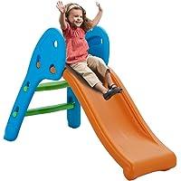 Albott Folding Slide Freestanding Toddler Folding Slide - Plastic Play Slide Climber Toddler Toy Ideal Gift for Kids…