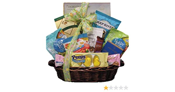 Amazon greatarrivals gift baskets happy easter sugar free amazon greatarrivals gift baskets happy easter sugar free gourmet easter gift basket 4 pound grocery gourmet food negle Images