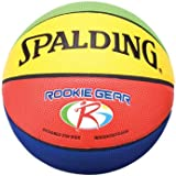 "Spalding Rookie Gear Basketball - Multi-Color - Youth Size (27.5"")"
