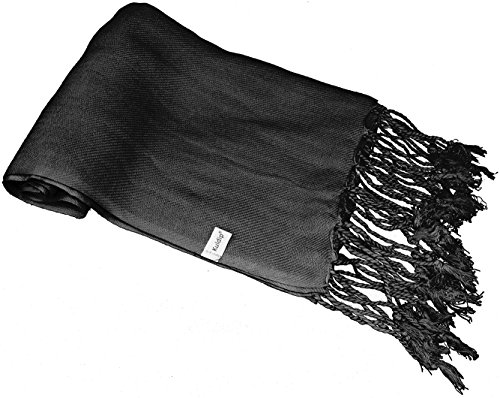 "Pashmina Scarf Shawl Wrap Throw - Over 100 beatiful colours to choose from (Approx. 28"" x Approx. 80"")"
