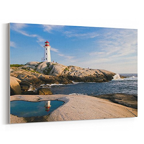 (Westlake Art - Sky Coast - 5x7 Canvas Print Wall Art - Canvas Stretched Gallery Wrap Modern Picture Photography Artwork - Ready to Hang 5x7 Inch)